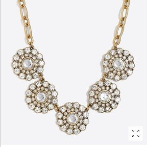 J.Crew Factory Layered Circle statement necklace